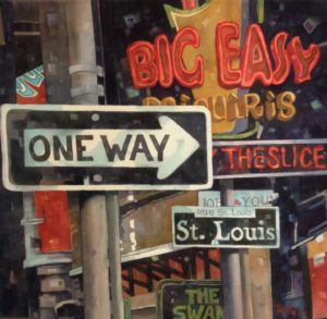 Louisiana Watercolor Society Exhibition, Susan Webb Tregay workshop